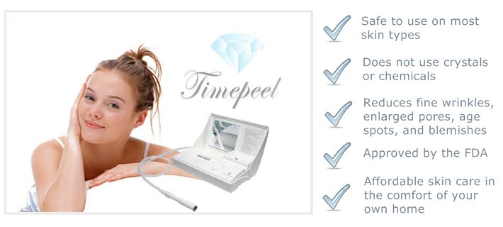 Timepeel Natural Diamond Microdermabrasion Machine